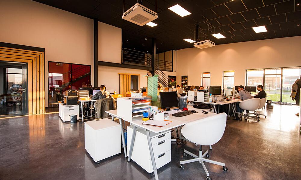 Full Boost Media office